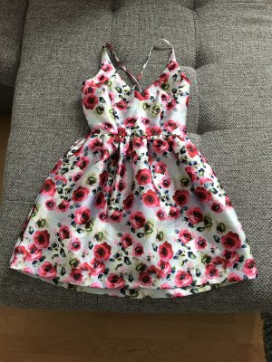 Nina Loo my little Princess Cocktailkleid Kleid Abendkleid Rosen bunt