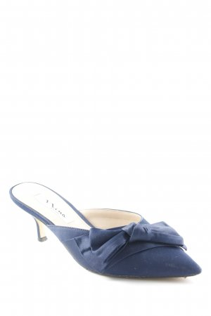 Nina New York Spitz-Pumps dunkelblau Elegant