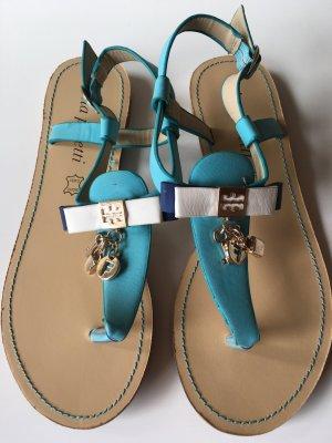 Sandalo toe-post multicolore