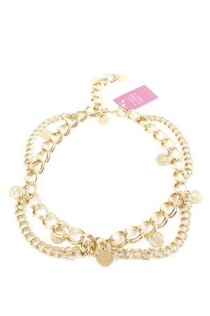 Nina ricci Cinturón de cadena color oro elegante