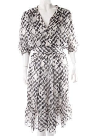 Nina Ricci Kleid schwarz-weiß