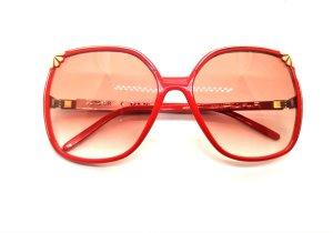 Nina ricci Oval Sunglasses gold-colored-red