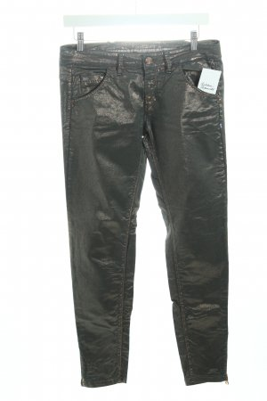 Nine in the morning Slim Jeans bronzefarben-khaki extravaganter Stil