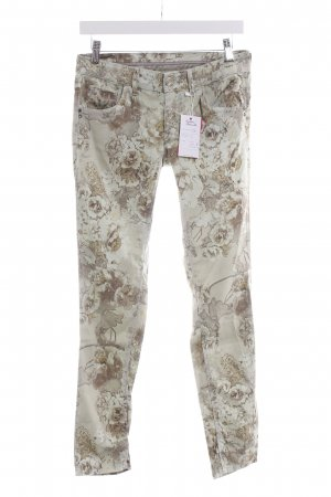 Nine in the morning Stoffhose florales Muster Casual-Look