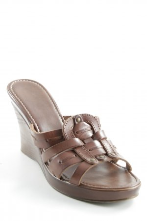 Nine west Heel Pantolettes brown '90s style