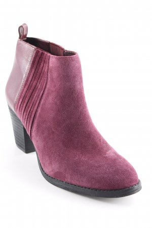Nine west Ankle Boots schwarz-purpur Elegant