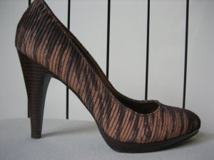 nine west braune pumps neu gr. 38