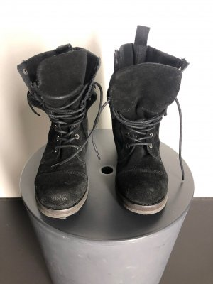Nine west Chukka boot noir cuir