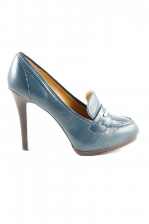Nine west High Heels neonblau Casual-Look