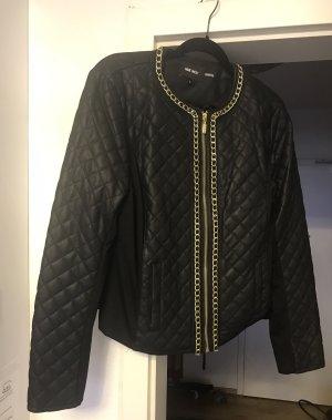 Nine west Faux Leather Jacket black