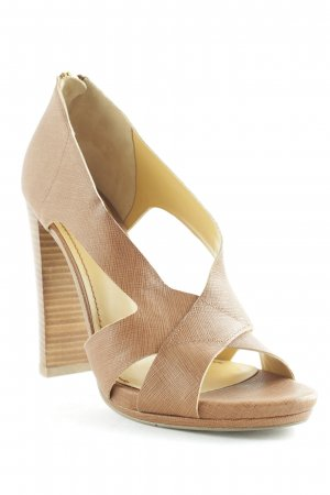Nine west Peeptoe Pumps braun Casual-Look