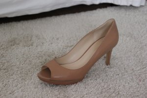 Nine West PeepToes Nude