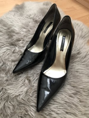 Nine West Pumps High Heels schwarz Lack