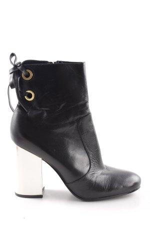 Nine west Reißverschluss-Stiefeletten schwarz Elegant