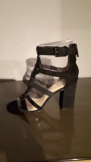Nine west High Heel Sandal black leather