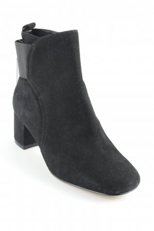 Nine west Stivaletto slip-on nero stile da moda di strada