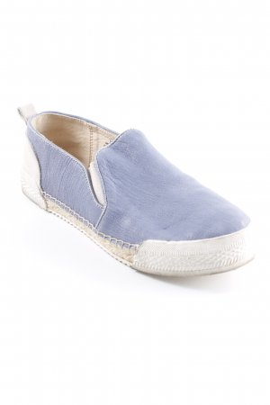 Nine west Sneaker slip-on blu pallido-crema stile atletico