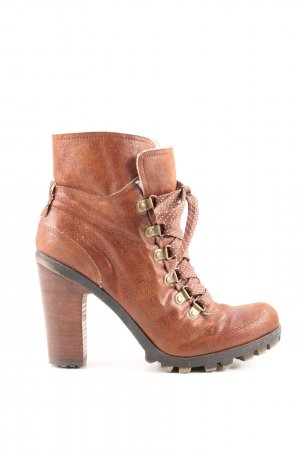 Nine west Schnür-Stiefeletten braun Casual-Look