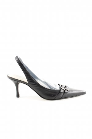 Nine west Slingback-Pumps schwarz Business-Look