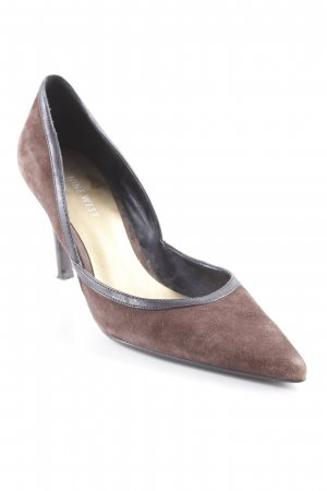Nine west Spitz-Pumps braun-dunkelbraun Elegant