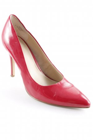 Nine west Spitz-Pumps rot Glanz-Optik
