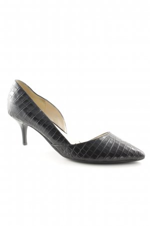 Nine west Spitz-Pumps schwarz Business-Look