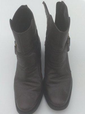 Nine West Stiefel Gr 36,5 Leder Braun