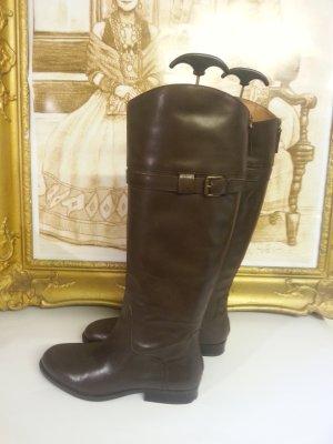 Nine West Stiefel im Reiterlook in Gr. 38 (38,5) mit Reissverschluss hinten