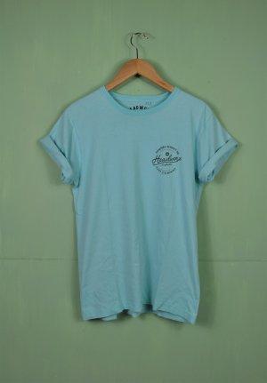 "Nineteen Seventy Six ""Australia"" Shirt in Türkisblau"