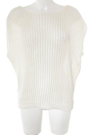 Nioi Crochet Top cream casual look