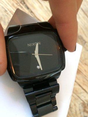 Nixon Player Diamant schwarz mit Etikett und Original Box