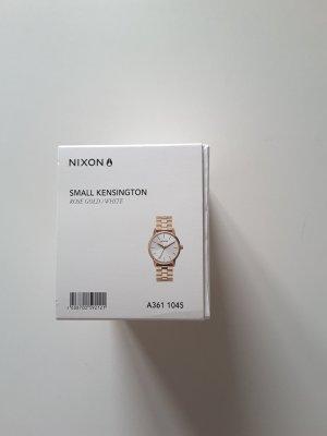 Nixon: Small Kensigton in roségold/ weiß