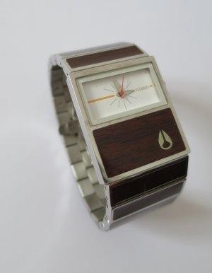 Nixon Horloge met metalen riempje zwart bruin Edelstaal
