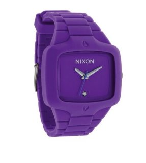 "Nixon ""The Rubber Player"" Uhr"