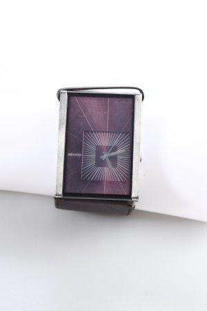 Nixon Uhr mit Lederarmband mehrfarbig klassischer Stil