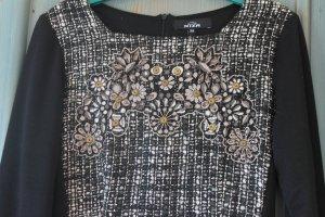 Niza Kleid schwarz-grau,  Gr.36 Neu