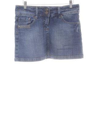 NKD Jeansrock stahlblau Jeans-Optik