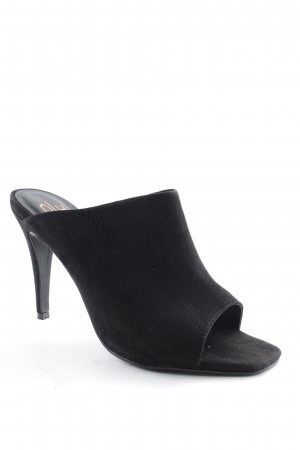 NLY Heel Pantolettes black classic style