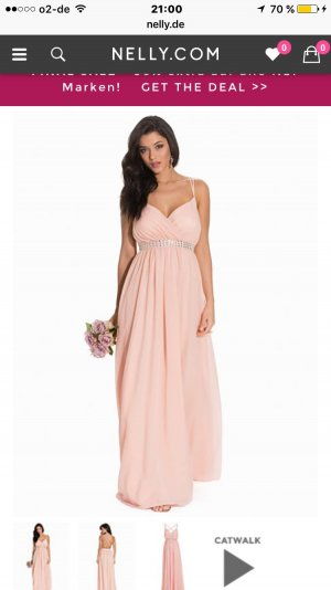 NLY EVE EMBELLISHMENT MAXI GOWN 38 Peach