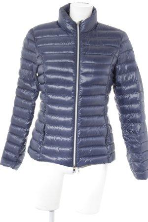 No. 1 Como Gewatteerd jack donkerblauw quilten patroon klassieke stijl