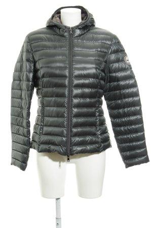 No. 1 Como Steppjacke petrol Street-Fashion-Look