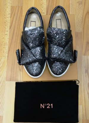 No. 21 Slip-on Shoes natural white-anthracite