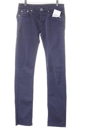 No.l.ita Hüftjeans graublau schlichter Stil