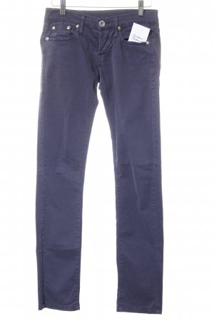 No.l.ita Low Rise Jeans slate-gray simple style