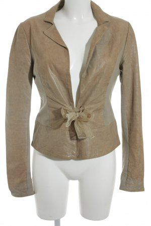 No-Na Lederjacke beige Casual-Look