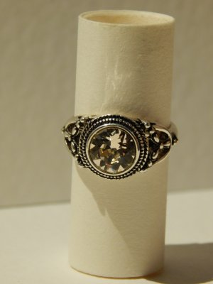 Ring zilver-rosé