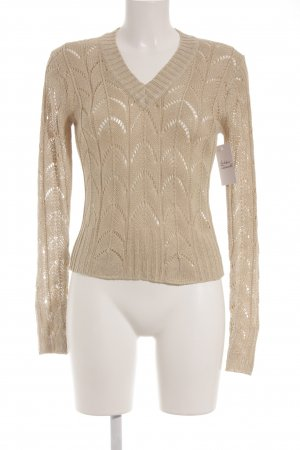 no name Strickpullover creme Elegant