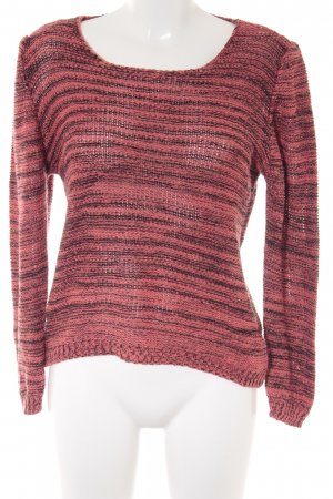 no name Strickpullover meliert Casual-Look