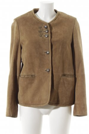 no name Traditional Jacket light brown casual look