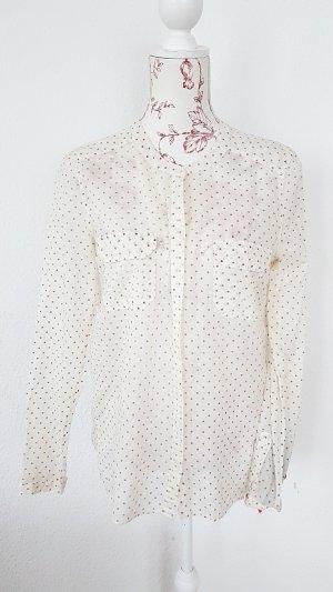 No21 hemd bluse hauchzart gepunktet NP: 340€